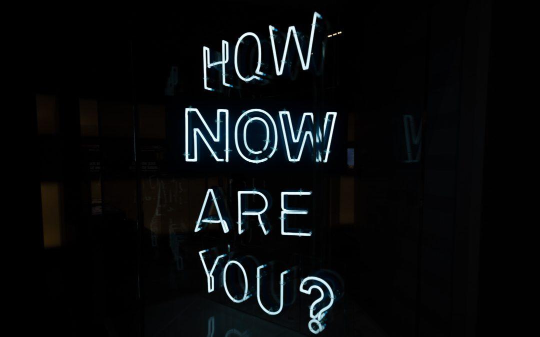 Agir sur ce qui est et non sur ce qui risque d'arriver…